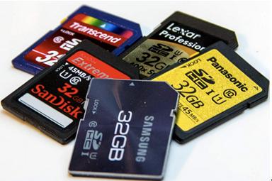 recuperação de cartões de memória online
