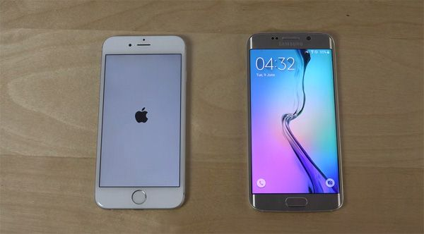 iPhone iOS9 vs. Samsung Galaxy S6 Edge