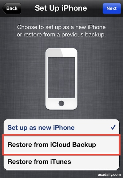 recover contacts iphone from icloud backup