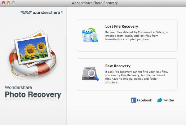 recuperação de cartão de memória de câmera