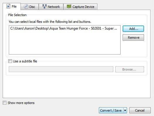 Make VLC Turn Into a Video Converter