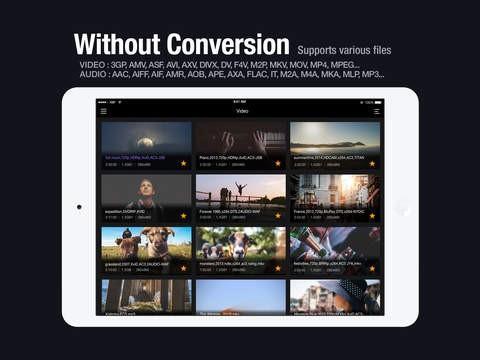 TOP 5 de Alternativas ao VLC para iPad