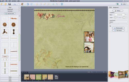 weddign guest book print