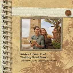 Wedding Guest Book Sample
