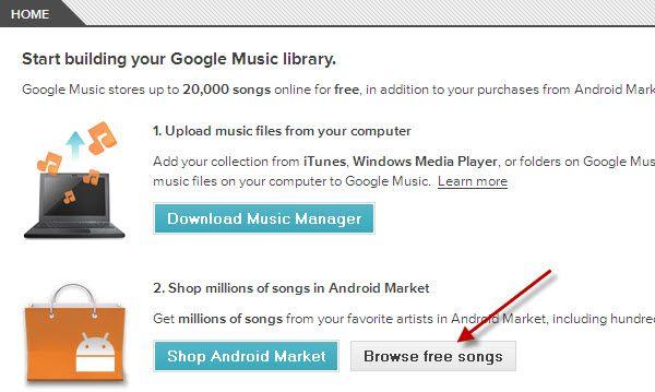 google músic gratuito