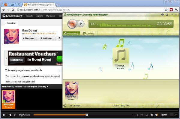 Obtenha música do Grooveshark para a Biblioteca Google Music