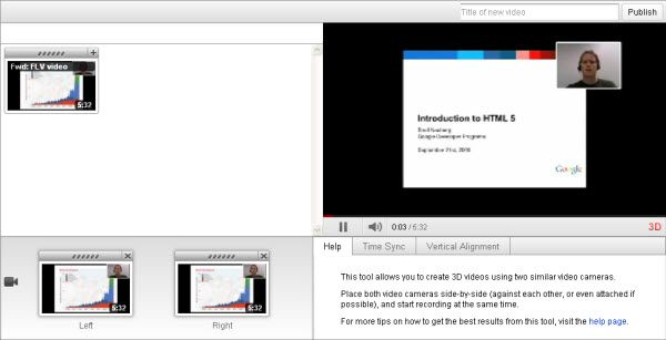 youtube 3d video maker