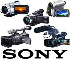 sony camcorder recovery