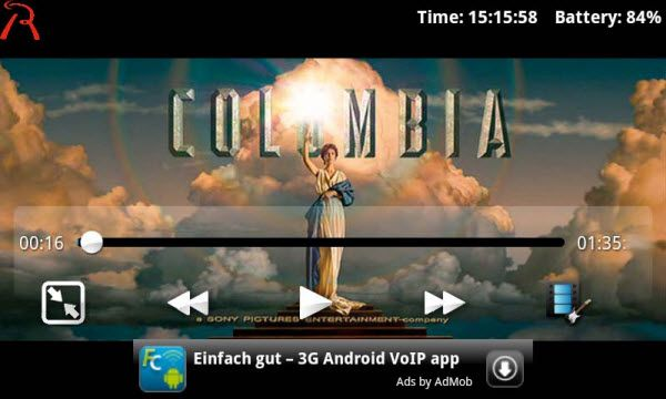 rockplayer video player for android
