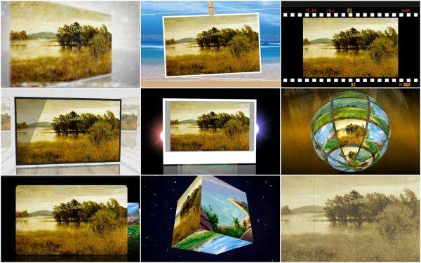 slideshow photo effect mac