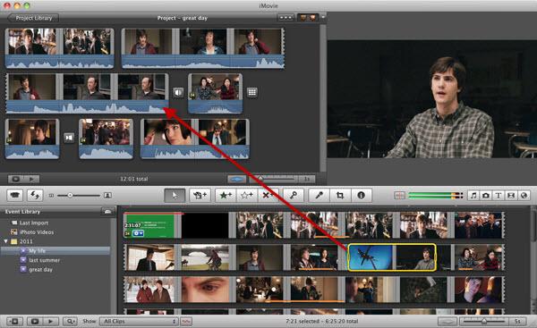 editing movies in imovie
