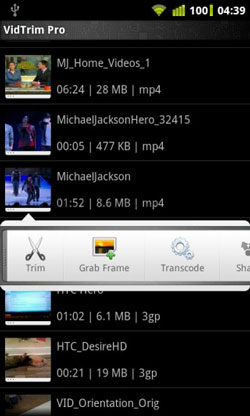 android video editor vidtrim pro