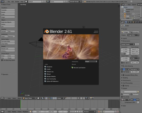 after effects alternativo blender