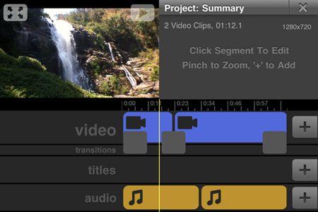 free ipad video editor