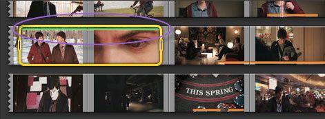 mark videos in imovie