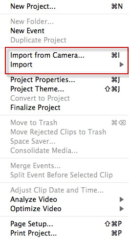 speed up video in iMovie