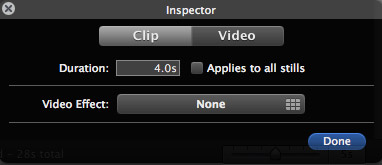 record a voiceover in iMovie