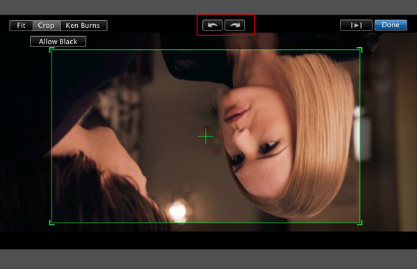 iMovie Inverter Imagem