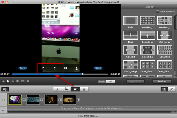 rotate avi mac