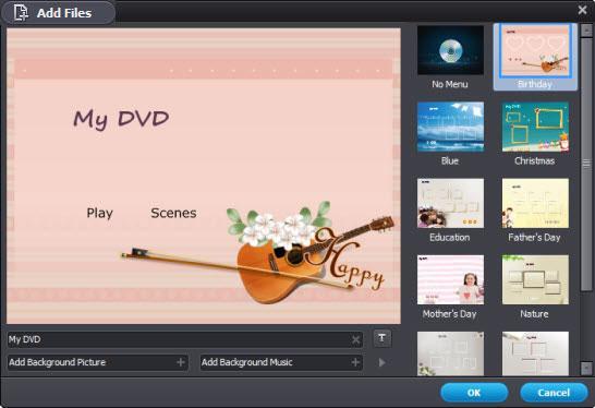 make DVD menu with windows dvd maker in Windows 10