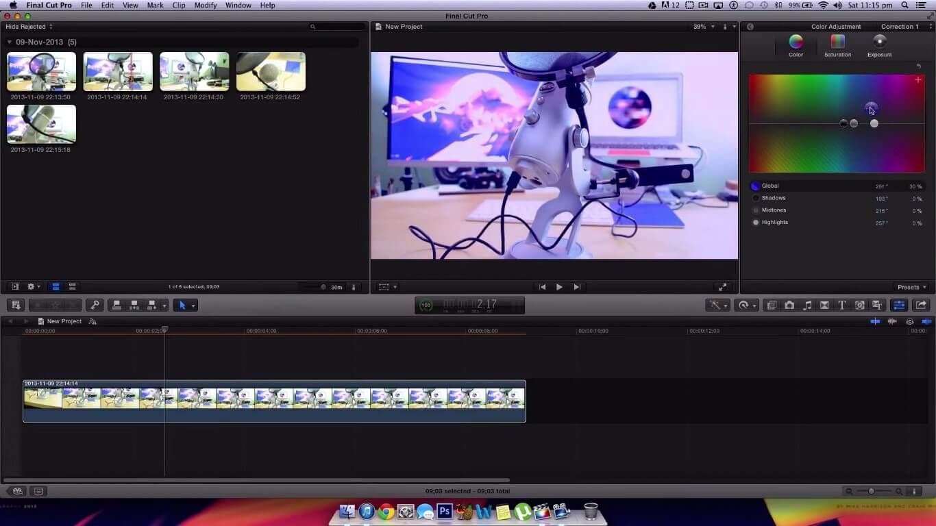 how to compress final cut pro video for youtube